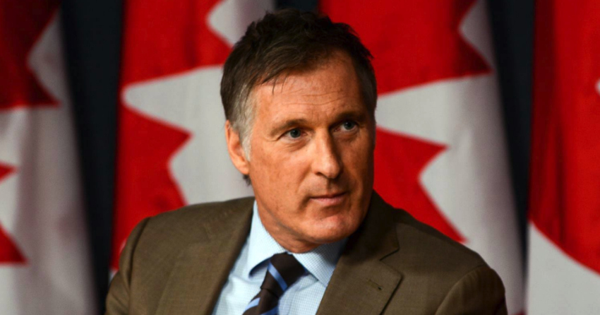 Maxime Bernier, leader of the People's Party of Canada, not