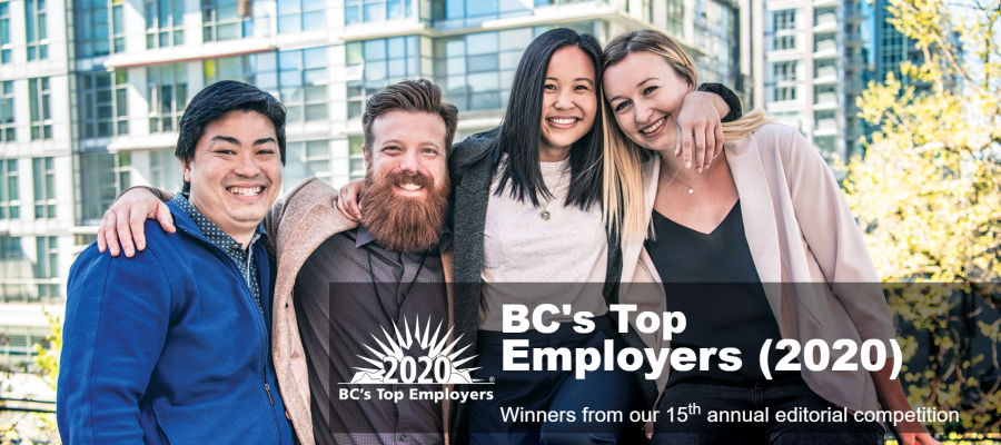 the 15th annual list of bc u2019s top 100 employers announced