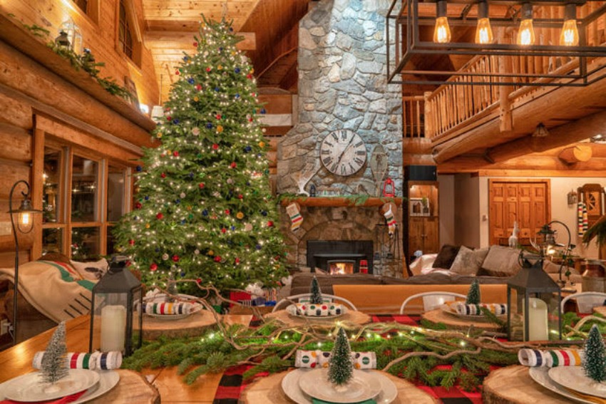 Cozy Canadian Christmas Cabins