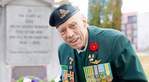 COVID-conscious Remembrance Day ceremony keeps the tradition alive