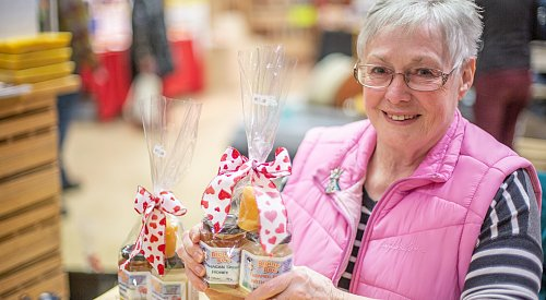 Kelowna Farmers' and Crafters' Market spreads the love with Valentine's Day fun