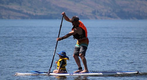 Kelowna paddle boarders gear up for spring programs amid eased pandemic restrictions
