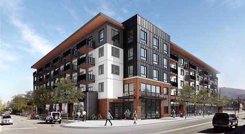 Early 2022 completion targeted for 75-unit '285 Westminster' apartment block