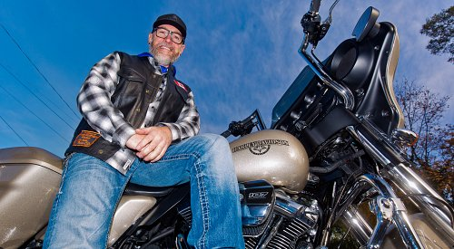 Penticton man vies for TV show spot, pledges winning motorcycle to Discovery House