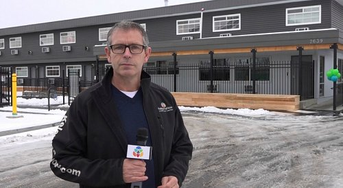 VIDEO: Another housing project opens for Kelowna's homeless population
