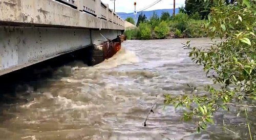 Rising water levels force closure along Mission Creek Greenway
