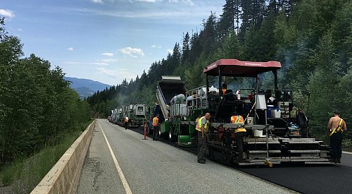 400 km of southern Interior highways being resurfaced this summer