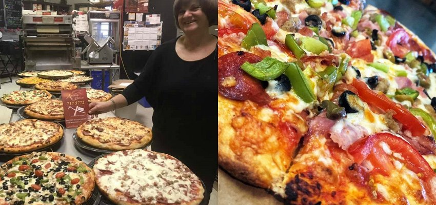 CONTEST CLOSED! Enter to win 4 large pizzas from A'Roma Pizza